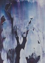 Untitled  // 13 X 18 cm //  acryl on paper  // #101  2019