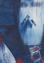 Untitled  // 13 X 18 cm //  acryl on paper // #23  2019
