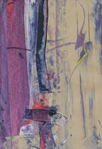 Untitled  // 20 X 29 cm //  acryl on paper // #48  2019