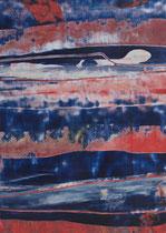 Untitled  // 13 X 18 cm //  acryl on paper // #91  2019