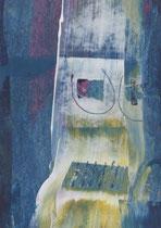 Untitled  // 13 X 18 cm //  acryl on paper // #29  2019