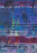 Untitled  // 13 X 18 cm //  acryl on paper // #135  2019