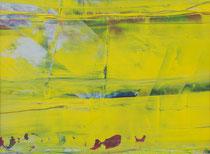 yellow  // 20 X 29 cm //  acryl on paper // #77  2019