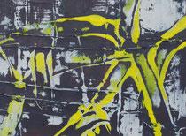 Untitled  // 20 X 29 cm //  acryl on paper // #73  2019