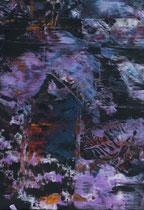 Untitled  // 20 X 29 cm //  acryl on paper // #118  2019