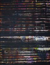 dark one in the new studio // 49 X 69 cm //  acryl on paper // #190  2019