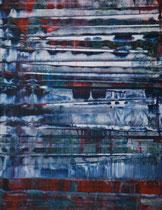 Untitled // 49 X 69 cm //  acryl on paper // #153  2019