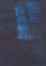 Untitled  // 13 X 18 cm //  acryl on paper // #27  2019