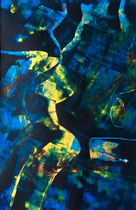 Portugal_4 // 13 X 18 cm //  acryl on paper // #21  2020