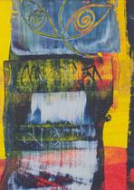 Untitled  // 13 X 18 cm //  acryl on paper // #24  2019