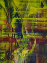 Untitled // 49 X 69 cm //  acryl on paper // #181  2019