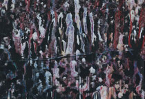 Untitled  // 20 X 29 cm //  acryl on paper // #126  2019