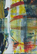 Untitled  // 20 X 29 cm //  acryl on paper // #125  2019