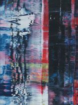 Untitled // 28 X 40 cm // acryl on paper // #117 2019