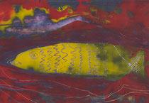 Untitled  // 20 X 29 cm //  acryl on paper // #119  2019