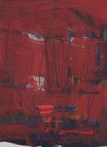 Untitled  // 20 X 29 cm //  acryl on paper // #50  2019