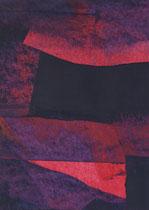 Untitled  // 20 X 29 cm //  acryl on paper // #89  2019