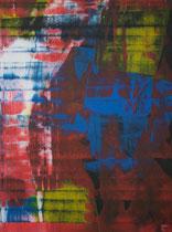 Untitled // 28 X 40 cm // acryl on paper // #140 2019