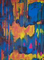 Untitled  // 28 X 40 cm // acryl on paper // #2 2020