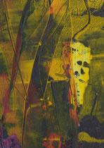 Untitled  // 20 X 29 cm //  acryl on paper // #62  2019