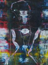 Untitled // 28 X 40 cm // acryl on paper // #120 2019