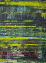 Untitled // 49 X 69 cm //  acryl on paper // #154  2019