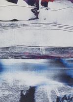 Untitled  // 13 X 18 cm //  acryl on paper // #81  2019