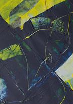 Untitled  // 20 X 29 cm //  acryl on paper // #78  2019