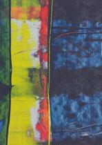 Untitled  // 13 X 18 cm //  acryl on paper // #82  2019