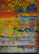 Untitled // 28 X 40 cm // acryl on paper // #179 2019