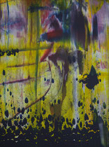 Untitled // 28 X 40 cm // acryl on paper // #185 2019