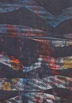 Untitled  // 13 X 18 cm //  acryl on paper // #16  2019