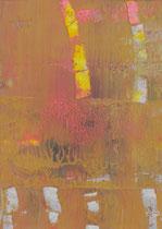 Untitled  // 13 X 18 cm //  acryl on paper // #19  2019