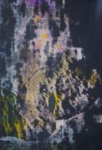Untitled  // 20 X 29 cm //  acryl on paper // #147  2019