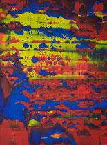 Untitled // 28 X 40 cm // acryl on paper // #166 2019