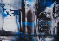 Untitled  // 20 X 29 cm //  acryl on paper // #163  2019