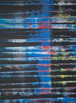 blue // 49 X 69 cm //  acryl on paper // #143  2019