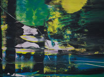 Untitled // 28 X 40 cm // acryl on paper // #198 2019
