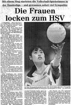 Abendblattartikel aus dem Jahr 1989
