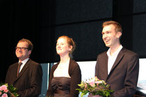 Britta Strege, Kevin Dickmann, Peter Kreutz
