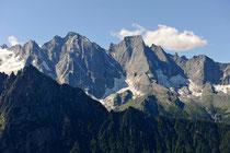 Bergeller Höhenweg Pizzo Cenaglo und Pizzo Badile