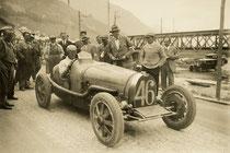 Autorennen auf der Shellstrasse