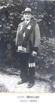 Johann Breuer - 1929/1930