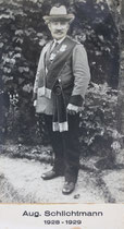 August Schlichtmann - 1928/1929