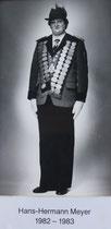 Hans-Hermann Meyer - 1982/1983