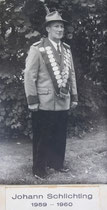 Johann Schlichting - 1959/1960