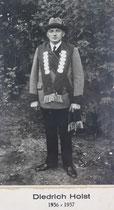 Diedrich Holst - 1936/1937