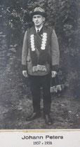 Johann Peters - 1937/1938