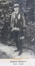 Klaus Bösch - 1931/1932