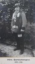 Hinrich Schlichtmann - 1933/1934
